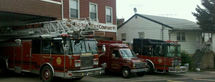Haledon Fire Company 1 is one of My places.