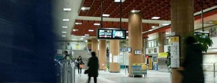 대청역 (Daecheong Stn.) is one of Subway Stations in Seoul(line1~4 & DX).