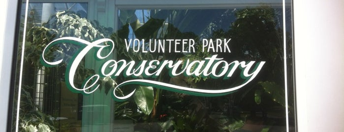Volunteer Park Conservatory is one of Seattle Tour #VisitUs.