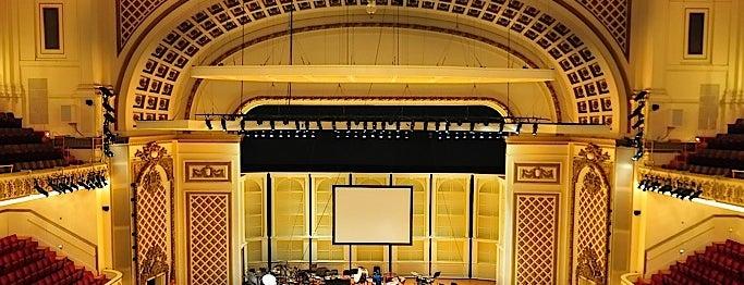 Cincinnati Music Hall is one of Cincinnati for Out-of-Towners #VisitUS.