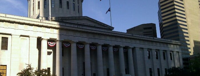 Ohio Statehouse is one of The Crowe Footsteps.
