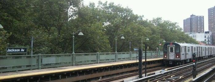 MTA Subway - Jackson Ave (2/5) is one of MTA Subway - 2 Line.
