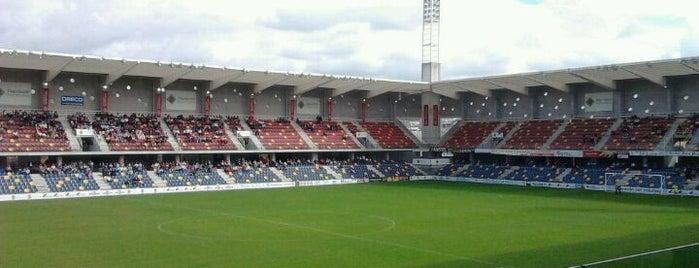 Estadio Municipal de Pasarón is one of Campos de fútbol.