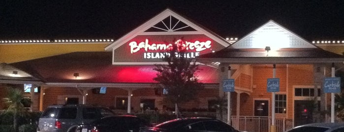 Bahama Breeze is one of New Places to Eat.