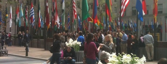 Rockefeller Center is one of Top 10 favorites places in New York.