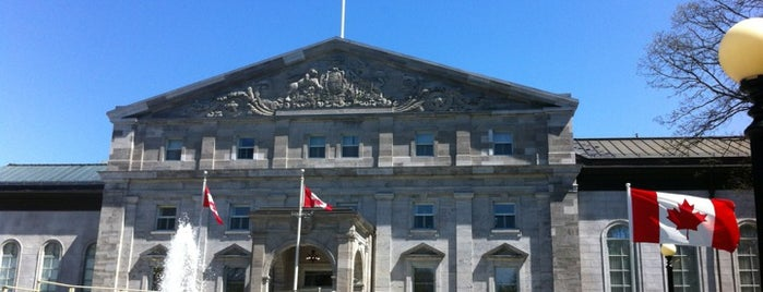 Rideau Hall is one of Ottawa.