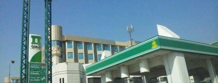 محطة التسهيلات is one of خدمات سيارات ومحطات.
