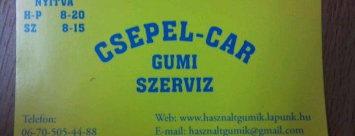 Csepel-Car Gumi Szerviz is one of 1.