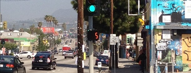 Sunset Boulevard is one of West Hollywood/Melrose.