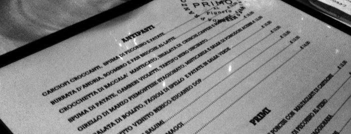 Primo Al Pigneto is one of ristoranti Roma.