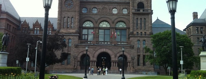 Queen's Park is one of Toronto City Guide #4sqCities.