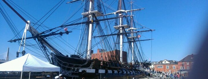 USS Constitution is one of BUcket List.