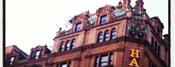 Harrods is one of Places to Visit in London.