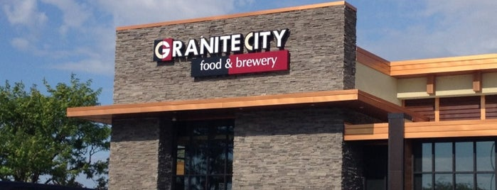 Granite City Food & Brewery is one of Michigan Breweries.