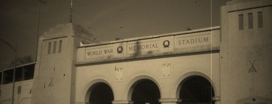 World War Memorial Stadium is one of Greensboro.