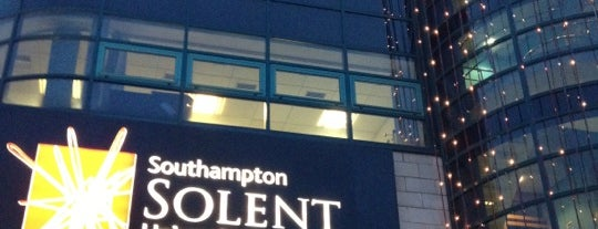 Southampton Solent University is one of Inspired locations of learning.