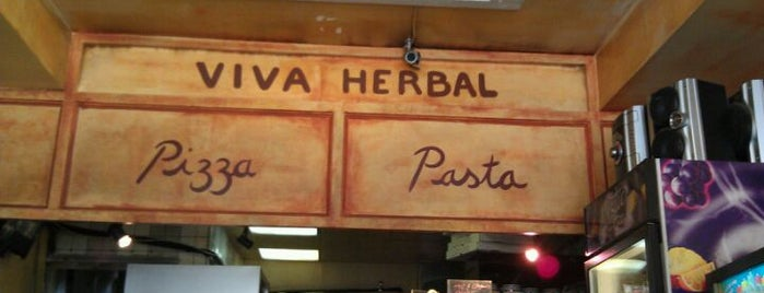 Viva Herbal Pizzeria is one of Veg*n NOMS in and around NYC.
