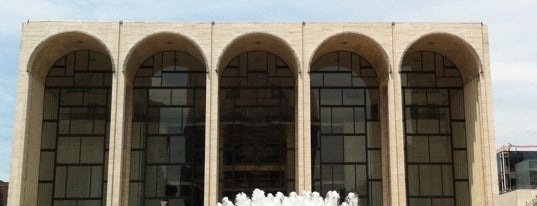 Lincoln Center for the Performing Arts is one of NYC I see.