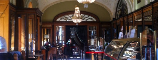 Café Gerbeaud is one of Best places in Budapesten..