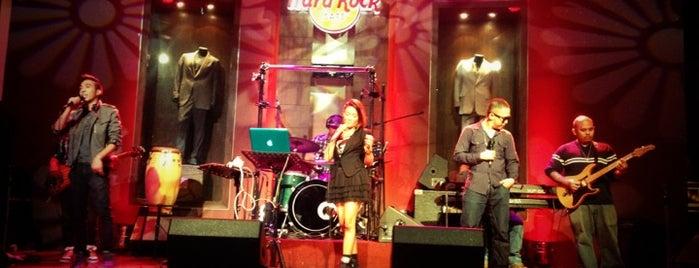Hard Rock Cafe Makati is one of Hardrock Cafe's.