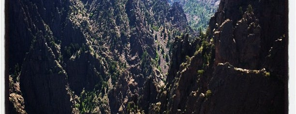 Black Canyon Of The Gunnison National Park is one of Colorado Tourism.