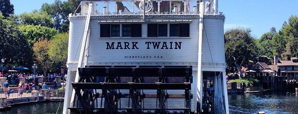 Mark Twain Riverboat is one of Disneyland Fun!!!.