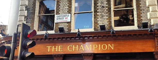 The Champion is one of Soho Pubs & Bars.