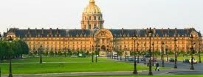 Esplanade des Invalides is one of Parcs, jardins et squares - Paris.