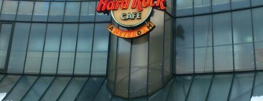Hard Rock Cafe Amsterdam is one of Hardrock Cafe's.