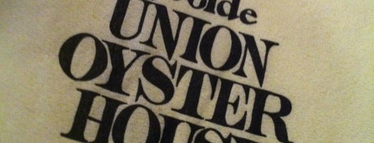Union Oyster House is one of BUcket List.