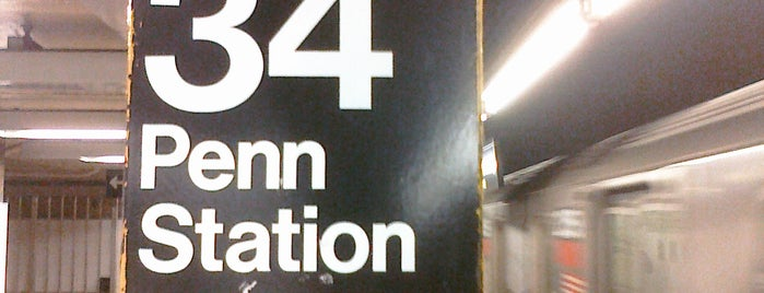 "MTA Subway - 34th St/Penn Station (1/2/3) is one of ""Be Robin Hood #121212 Concert"" @ New York!."