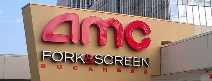 AMC Fork & Screen Buckhead is one of Places to try: fun.