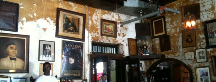 Napoleon House Bar & Cafe is one of New Orleans City Badge - The Big Easy.