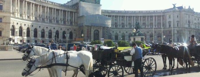 Hofburg is one of Vienna City Badge - Blue Danube.