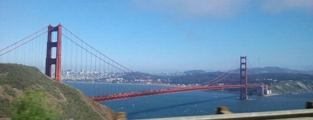 Golden Gate Bridge is one of Most Beautiful Places in America.