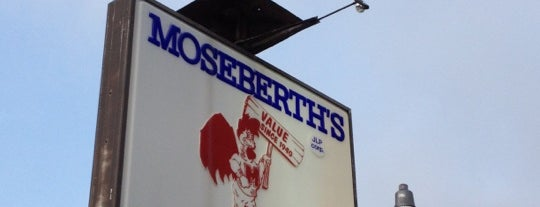 Moseberth's Fried Chicken is one of Triple D Restaurants.