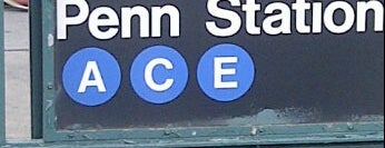 "MTA Subway - 34th St/Penn Station (A/C/E) is one of ""Be Robin Hood #121212 Concert"" @ New York!."