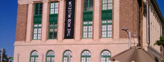 The Mob Museum is one of Las Vegas City Guide.
