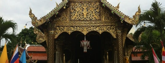 Wat Ket Karam is one of Chaing Mai (เชียงใหม่).