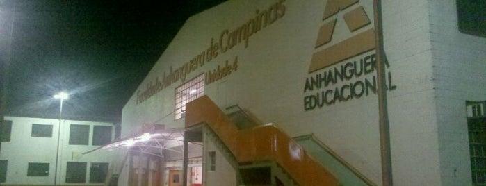 Faculdade Anhanguera de Campinas - Unidade 4 is one of Anhanguera São Paulo.