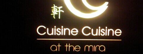 Cuisine Cuisine 國金軒 is one of Hong Kong.