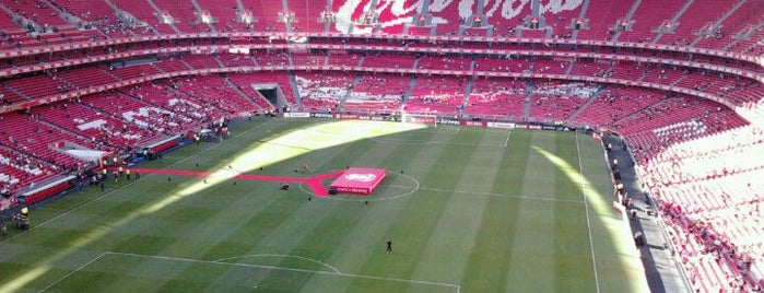 Estádio do Sport Lisboa e Benfica is one of Football Stadiums to visit before I die.