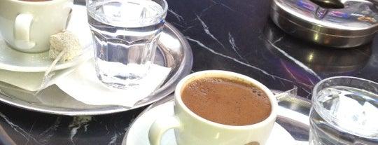 Fazıl Bey'in Türk Kahvesi is one of Istambul food.