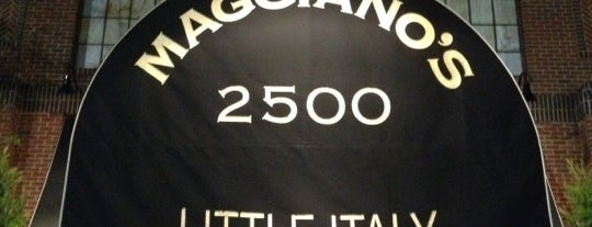 Maggiano's Little Italy is one of Lettuce Entertain You Restaurants.