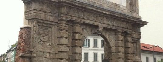 Porta Romana is one of MilanoX.