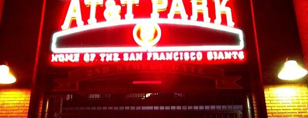 AT&T Park is one of Top Picks for Sports Stadiums/Fields/Arenas.