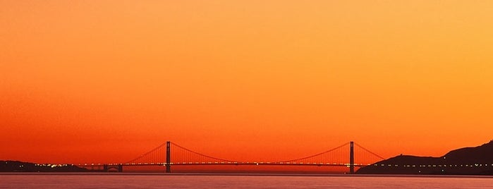 Scenic lookout is one of Top 5 places to photograph the Golden Gate Bridge.