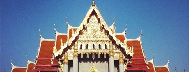The Marble Temple is one of Visit: FindYourWayInBangkok.