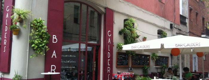 Bar Calders is one of Breakfast and nice cafes in Barcelona.