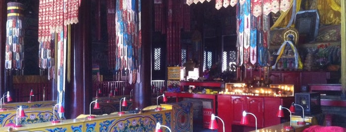 Yonghegong Lama Temple is one of Go Beijing or Go Home.